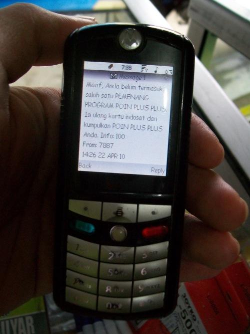 Informasi dari Indosat